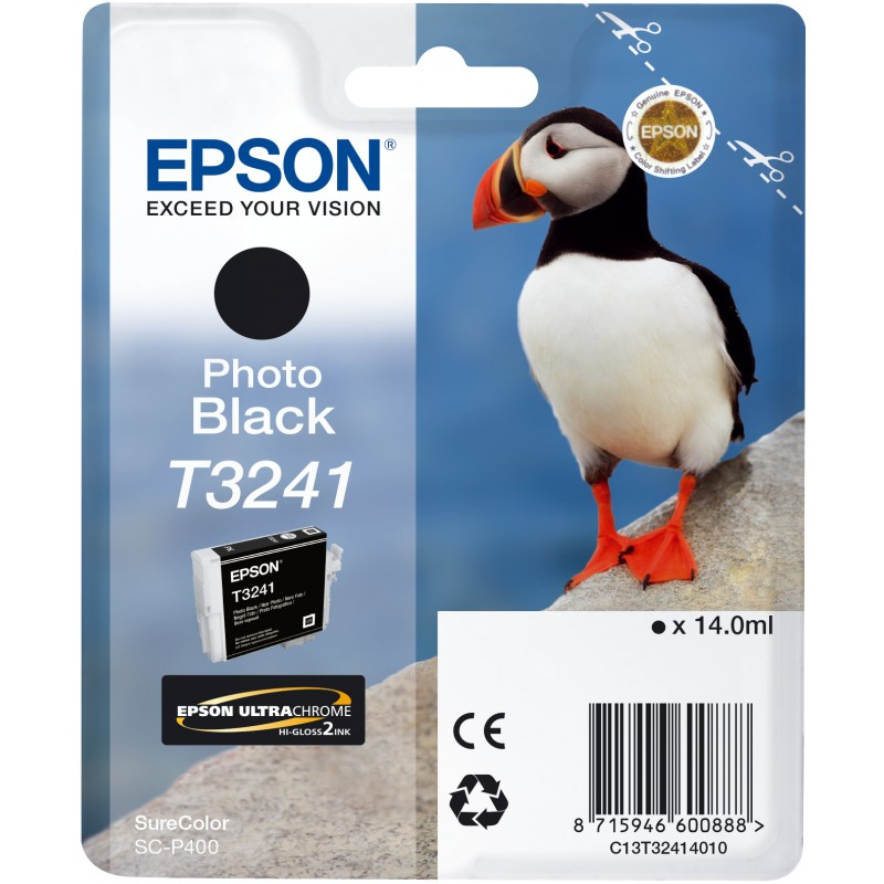 Epson C13T32414010 Cartuccia d'inchiostro Nero (foto) ~4.200 pagine