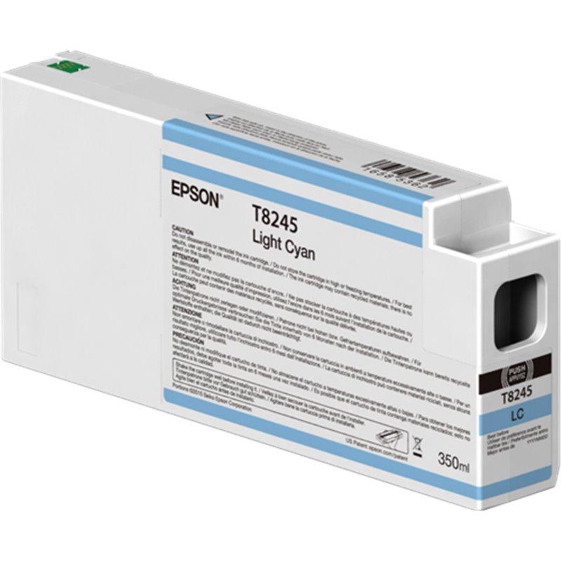Epson C13T824500 Cartuccia d'inchiostro ciano (chiaro) 350ml Ultrachrome HD, UltraChrome HDX