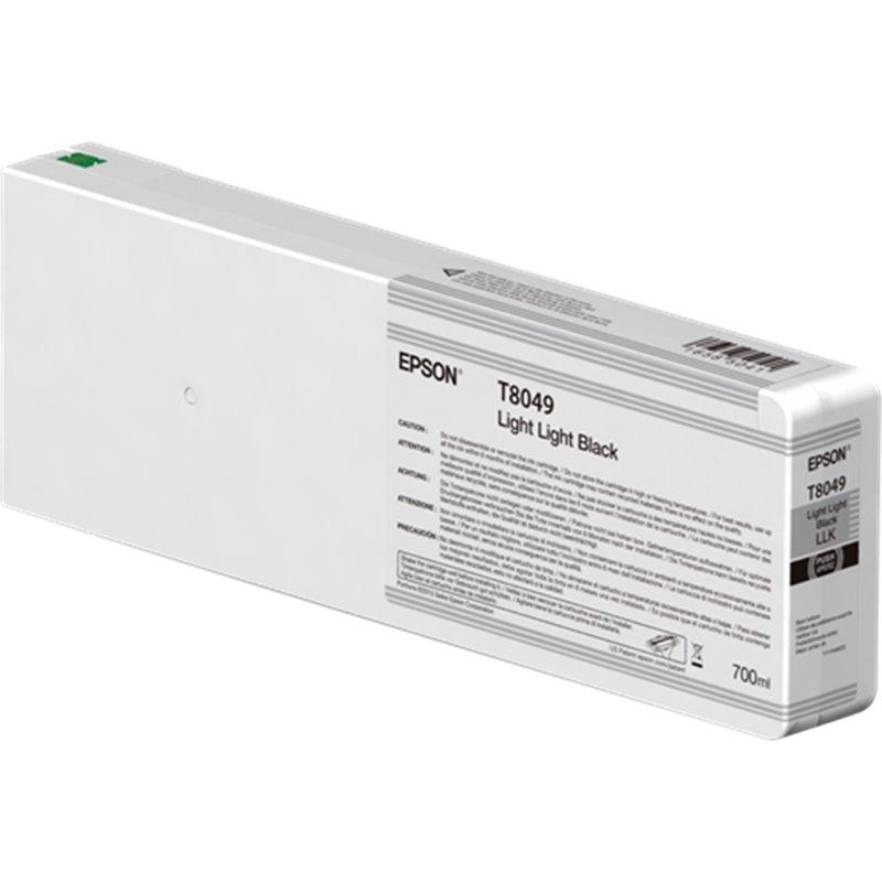 Epson C13T804900 Cartuccia d'inchiostro Nero (light, light) 700ml Ultrachrome HD, UltraChrome HDX