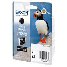 Epson C13T32484010 Cartuccia d'inchiostro Nero (opaco) ~650 pagine