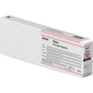Epson C13T804600 Cartuccia d'inchiostro Magenta (chiaro, vivido) 700ml Ultrachrome HD, UltraChrome HDX