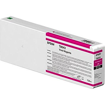 Epson C13T804300 Cartuccia d'inchiostro Magenta (vivido) 700ml Ultrachrome HD, UltraChrome HDX