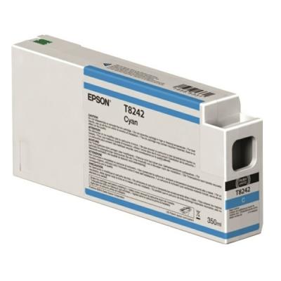 Epson C13T824200 Cartuccia d'inchiostro ciano 350ml Ultrachrome HD, UltraChrome HDX