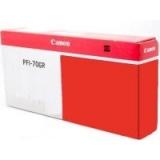 toner e cartucce - PFI-706R Cartuccia rosso, capacità inchiostro 7