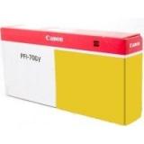 toner e cartucce - PFI-706Y  Cartuccia giallo, capacità inchiostro 700ml