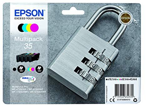 Epson C13T35864010 Multipack originale 4 colori: cyano-magenta-giallo-nero