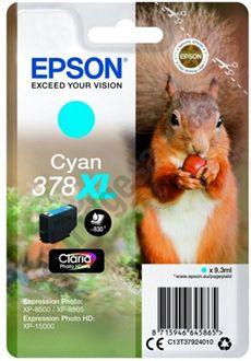 Epson C13T37924010 Cartuccia d'inchiostro ciano ~830 pagine