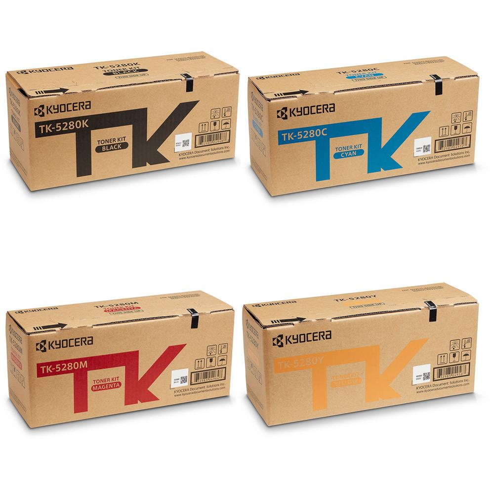 kyocera TK-5280C Toner Originale Ciano (TK-5280C), durata 11.000 pagine