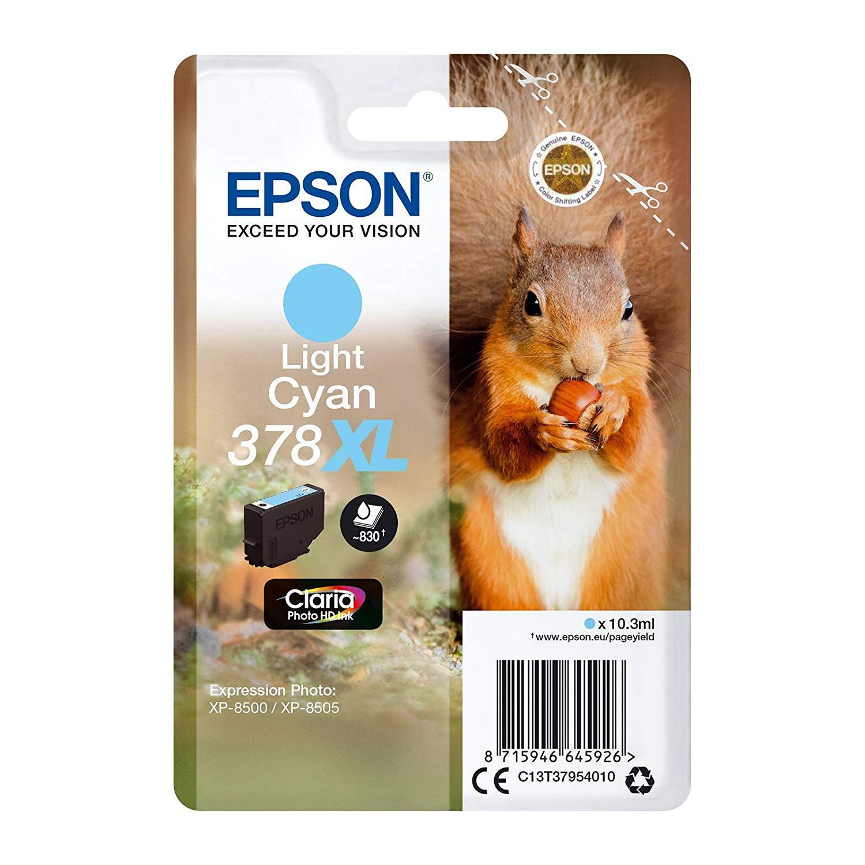 Epson C13T37954010 Cartuccia d'inchiostro ciano fotografico ~830 pagine