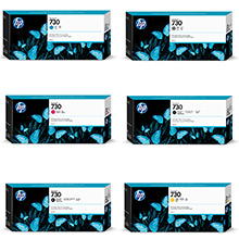 Hp P2V69A Cartuccia d'inchiostro magenta 300ml