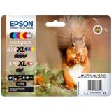 toner e cartucce - C13T379D4010 Multipack 6 colori: black/ciano/magenta/yellow/red/gray