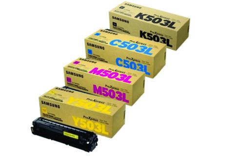 Samsung CLT-Y503L toner giallo, durata 5.000 pagine