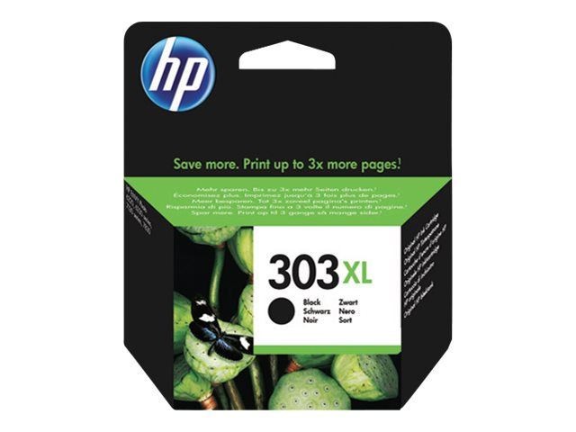 Hp T6N04A Cartuccia Inchiostro Originale Nero (303XL)