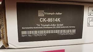 Utax-Triumph Adler CK-8514K toner nero ~30.000 pagine,1T02ND0UT0