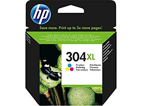 Hp N9K07AE HP 304 XL (N9K07AE)Cartuccia d'inchiostro differenti colori. cyano-magenta-giallo  MOMENTANEAMENTE NON DISPONIBILE