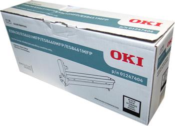 Oki 01247404 tamburo di stampa nero, durata indicata 20.000 pagine