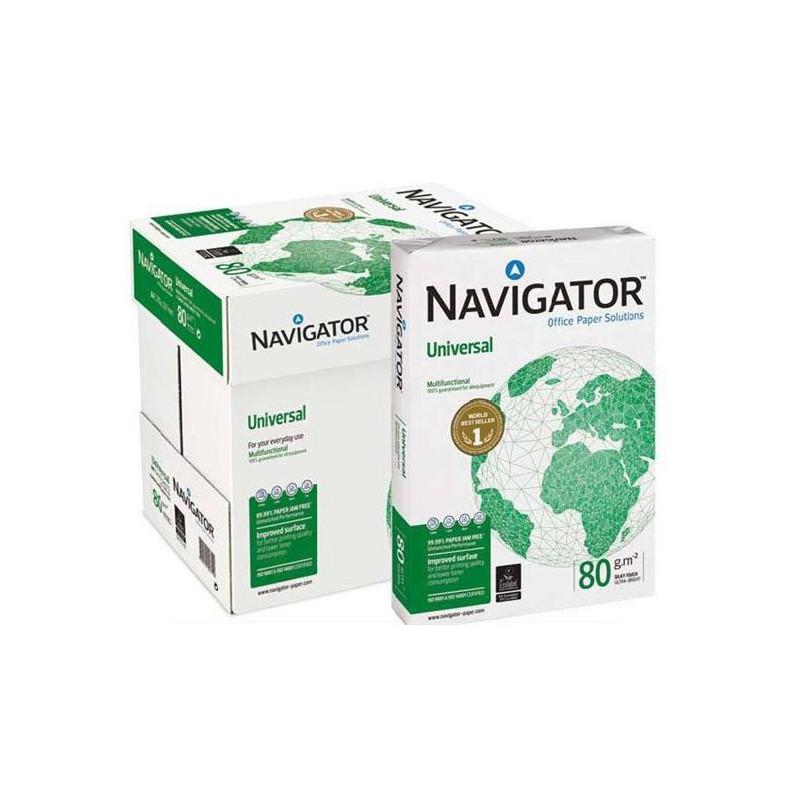 toner e cartucce - Navigator 80gr. 5 risme Carta Navigator 5 risme da 500ff. Grammatura 80
