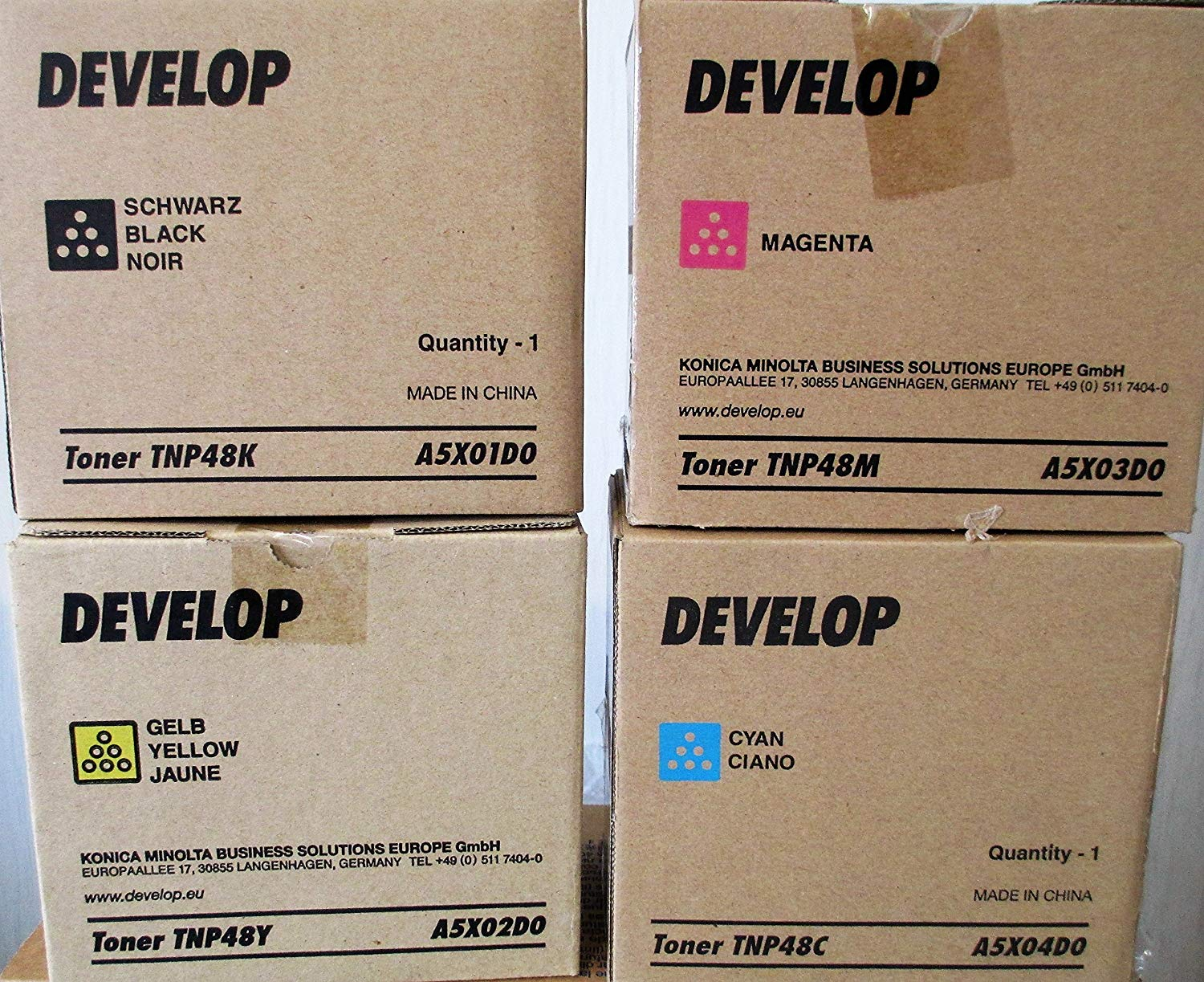 Develop A5X01D0 Toner Originale Nero 10.000 pagine