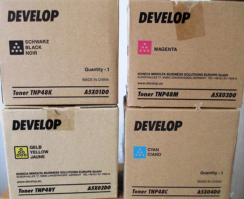Develop A5X04D0 Toner Originale cyano 10.000 pagine