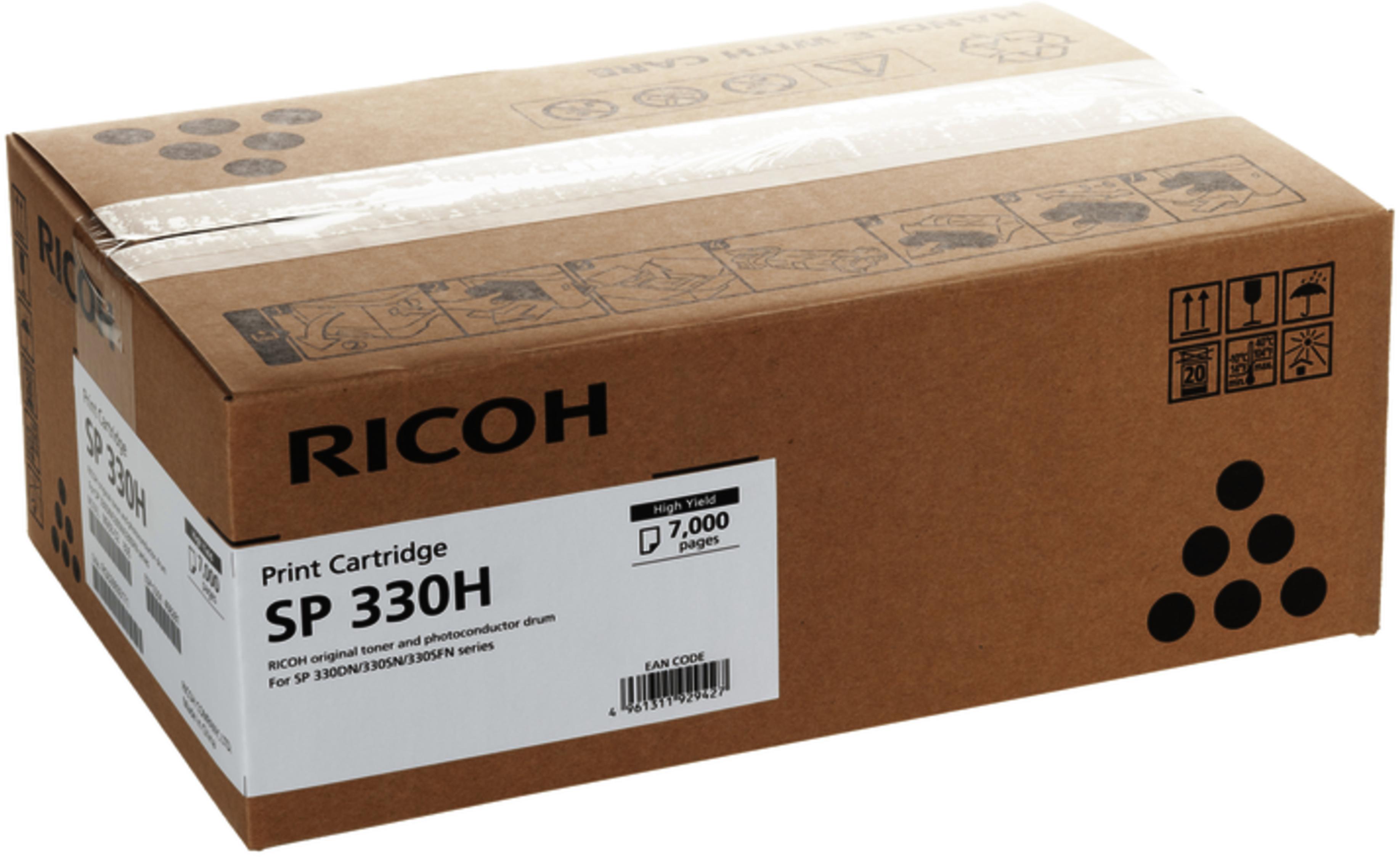 Ricoh 408281 Cartuccia Toner Originale,SP330H durata 7.000 pagine