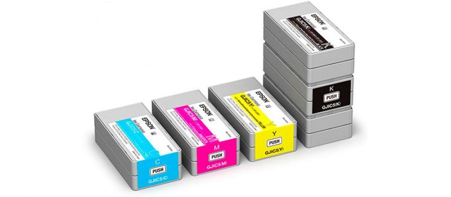 Epson GJIC5CY Epson GJIC5(Y) (C13S020566)Cartuccia d'inchiostro giallo