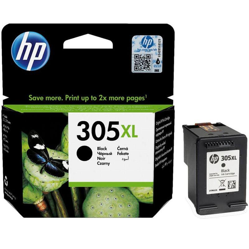 Hp 3YM62AE HP 305 XL (3YM62AE)Cartuccia d'inchiostro nero, durata 240 pagine