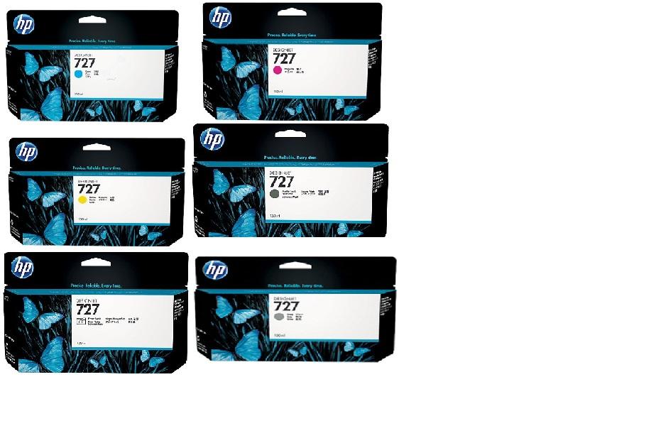 Hp b3pxl Multipack 6 colori:B3P19A-B3P20A-B3P21A-B3P22A-B3P23A-B3P24A