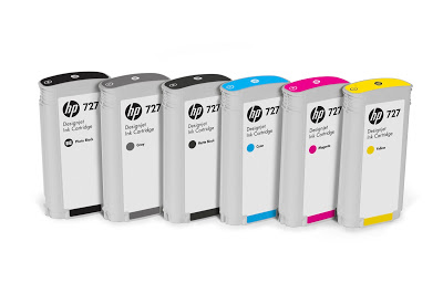 Hp F9J76A Cartuccia d'inchiostro ciano 300ml