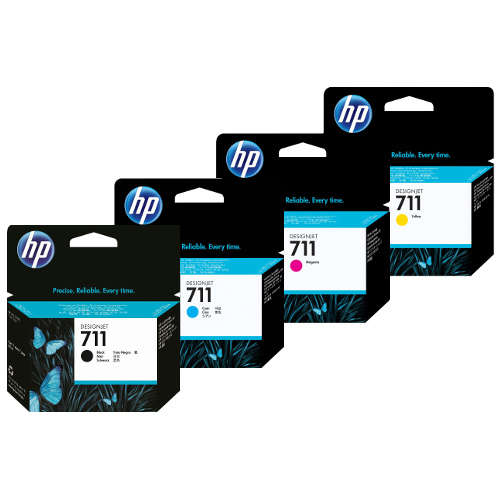 Hp CZ132A cartuccia giallo, capacit� 29ml
