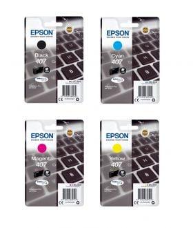 Epson C13T07U240 Epson 407 (C13T07U240) Cartuccia d'inchiostro cyano